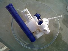 Démontage robinet flotteur d'origine