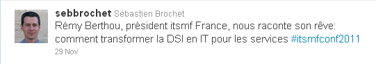 Twitter Rémy Berthou